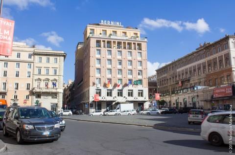 Площадь Барберини (Piazza Barberini)