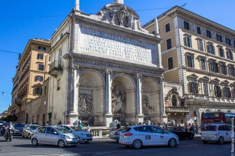 Фонтан и акведук Acqua Felice