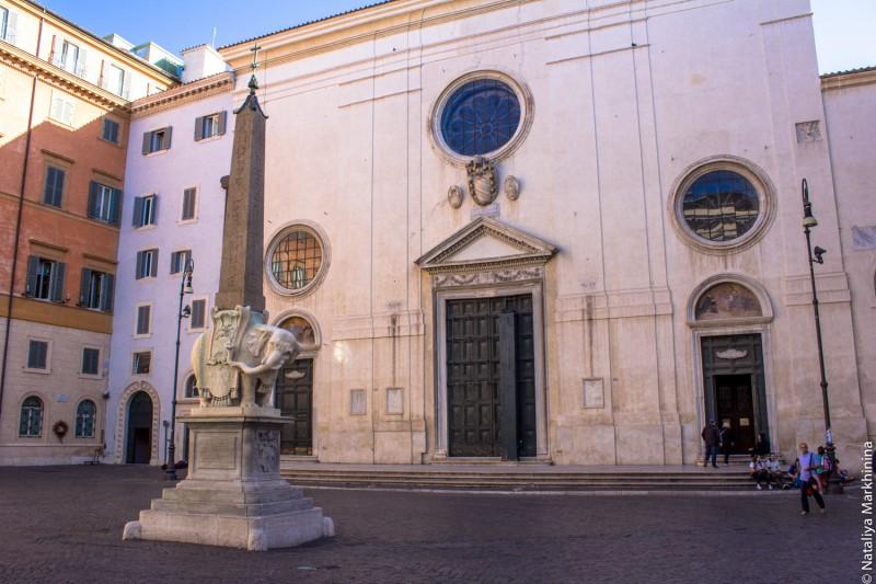 Piazza della Minerva-1360
