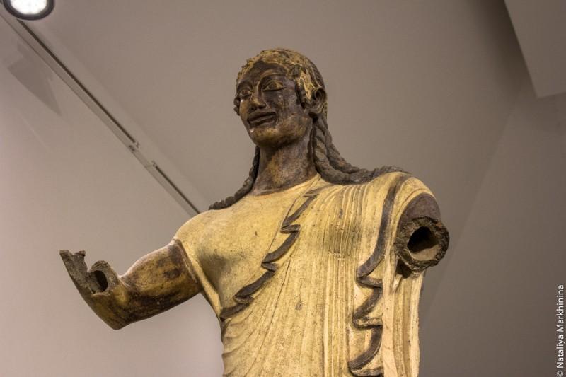 Museo Etrusco. Apollo di Veio-8356
