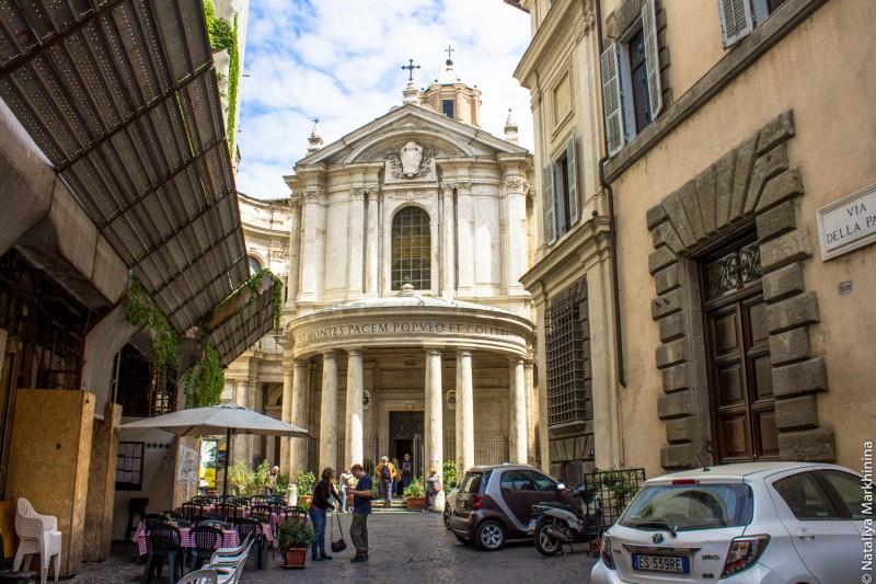 Santa Maria della Pace-8872