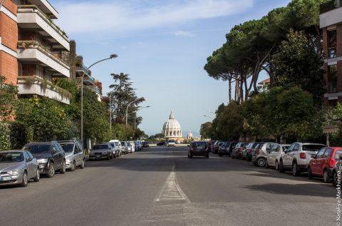 Оптические иллюзии в Риме
